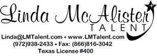 Linda McAlister Talent - Voiceover Div.